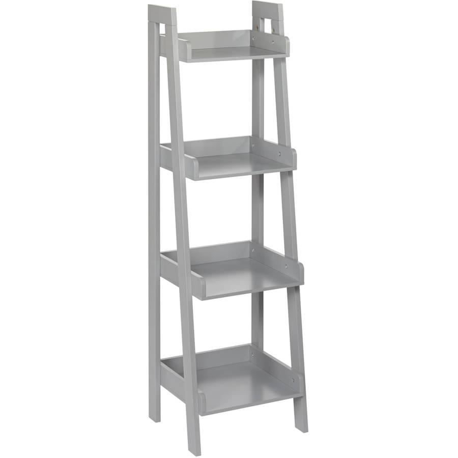 Riverridge Kids 4 Tier Ladder Shelf Grey Walmartcom