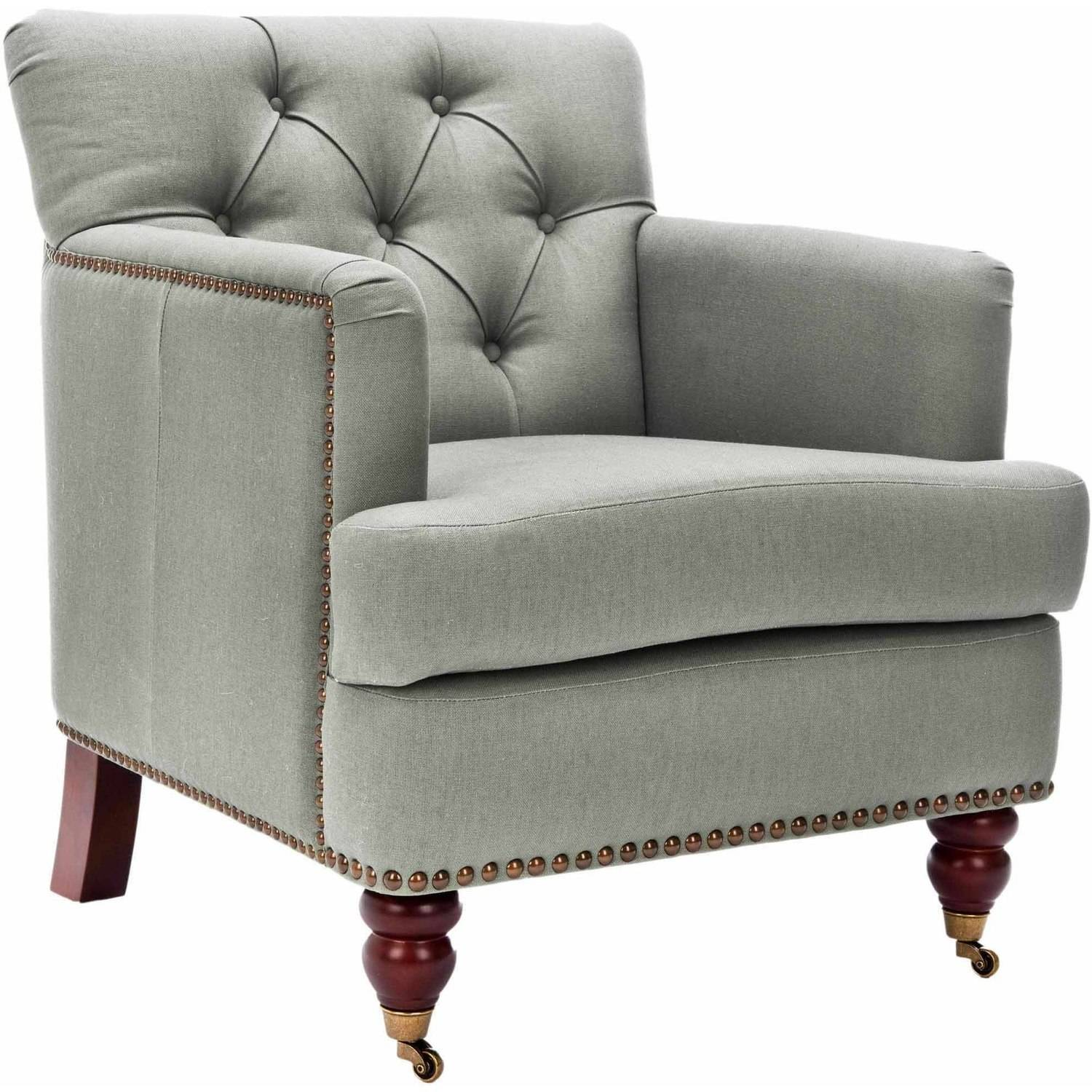 Football Sessel Safavieh Colin Tufted Club Chair