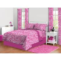 Zebra Print Complete Bed in a Bag Bedding Set - Walmart.com