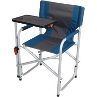 Portable Folding Aluminum Lawn Patio Director Chair with ...
