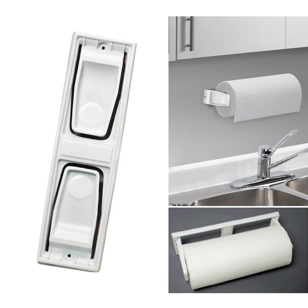 Wall Mount Paper Towel Dispensers Alltopbargains Paper Towel Roll Holder Dispenser Wall Mount Cabinet Kitchen Houseware Plastic