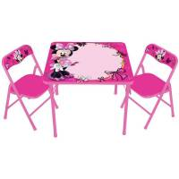 Disney Minnie Mouse Storage Table and Chairs Set - Walmart.com