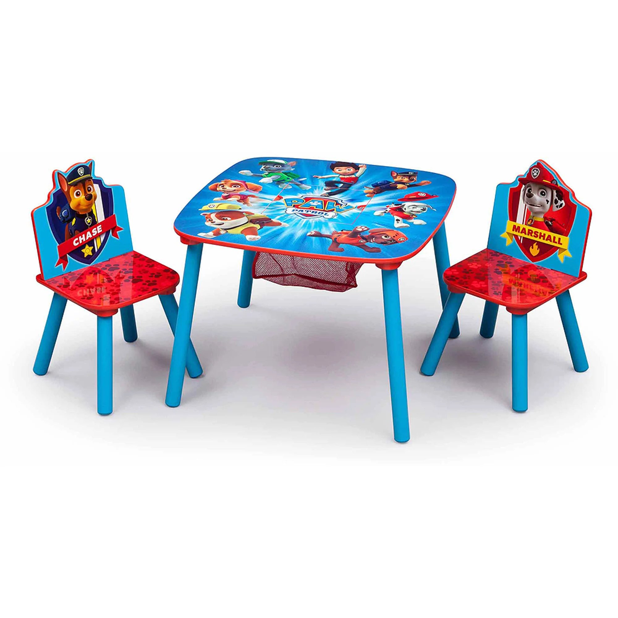 Childrens Wooden Table And Chairs Nick Jr Dora The Explorer Wood Kids Storage Table And Chairs Set By Delta Children