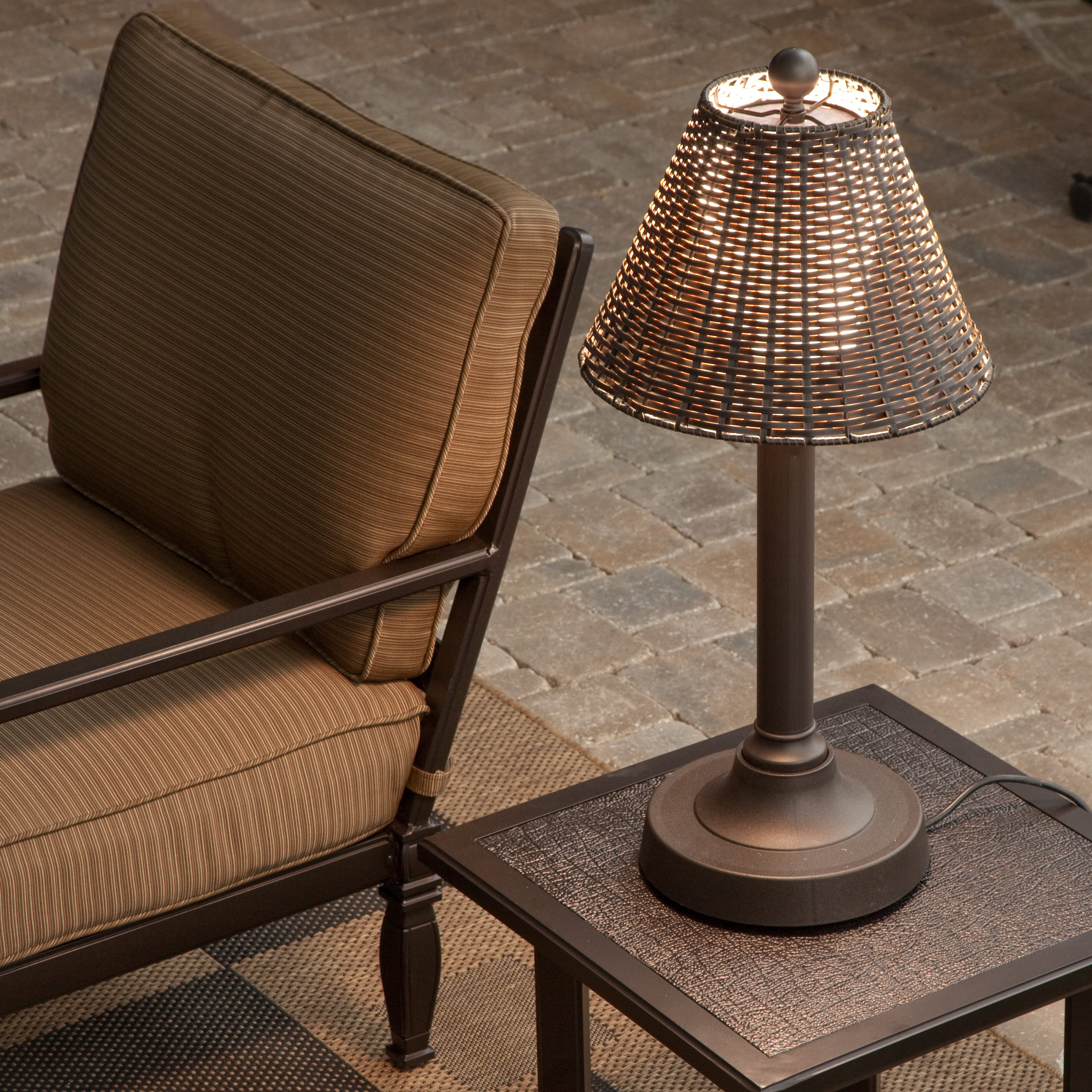 Outdoor Lamps Tahti Outdoor Patio Table Lamp