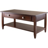 Richmond Coffee Table, Antique Walnut - Walmart.com