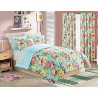 your zone madelyn floral bed in a bag bedding set ...