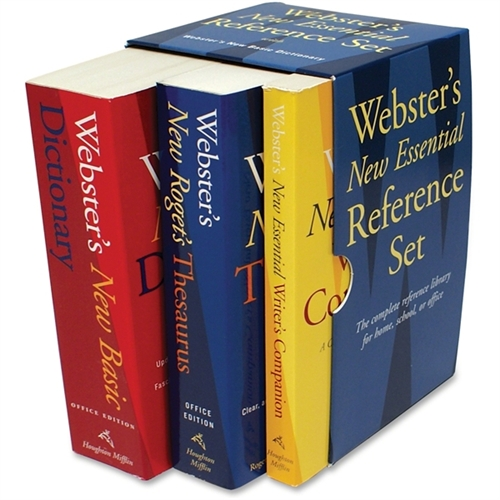 Houghton Mifflin Company Webster S New Essential Reference