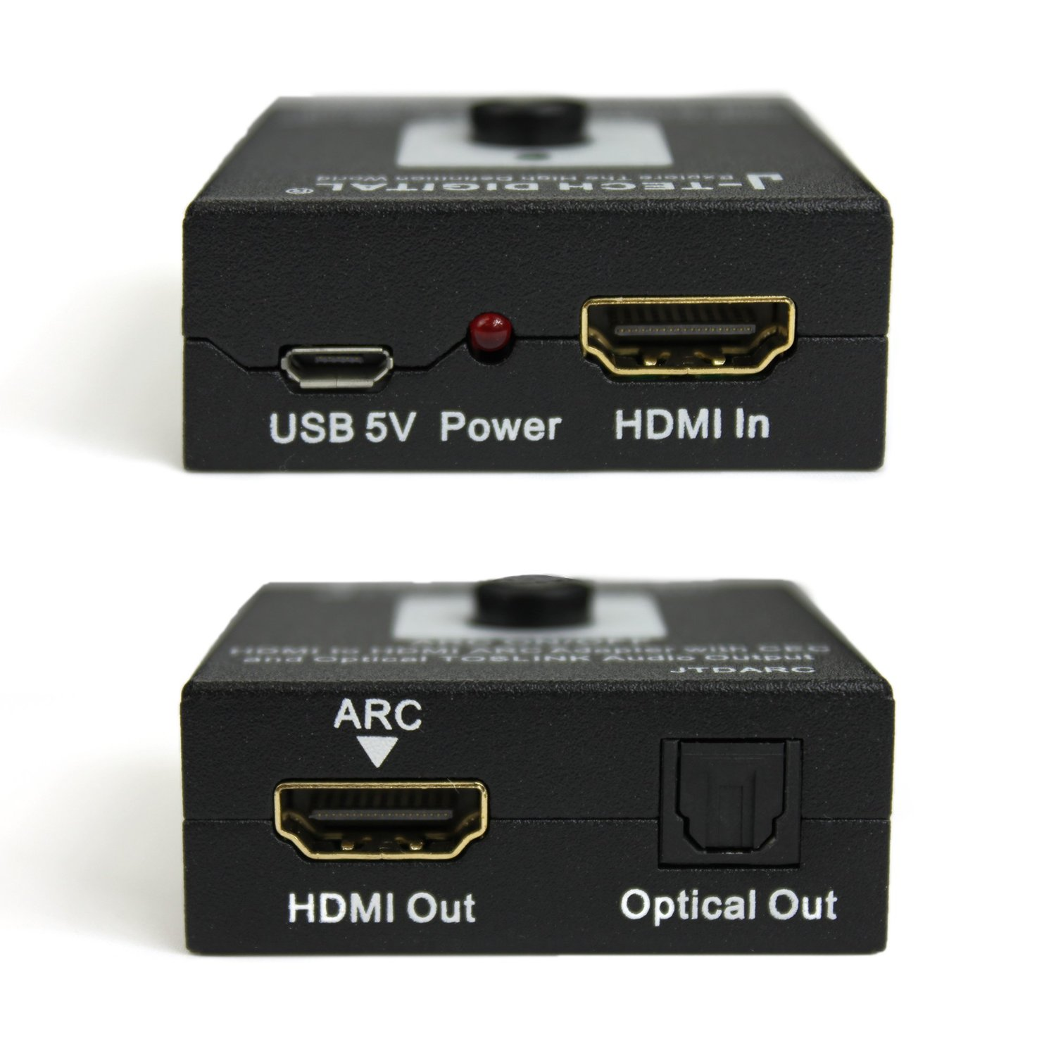 Hdmi Arc J Tech Digital Reg Hdmi To Hdmi Arc Adapter With Cec And Optical