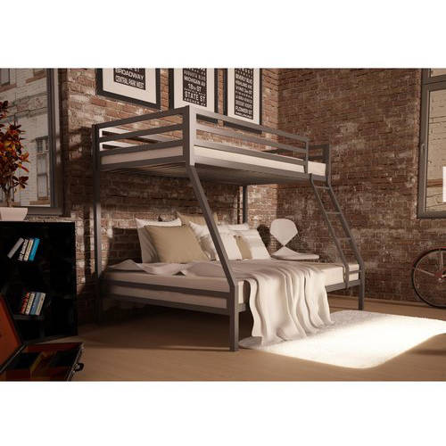 Mainstays premium twin over full metal bunk bed multiple