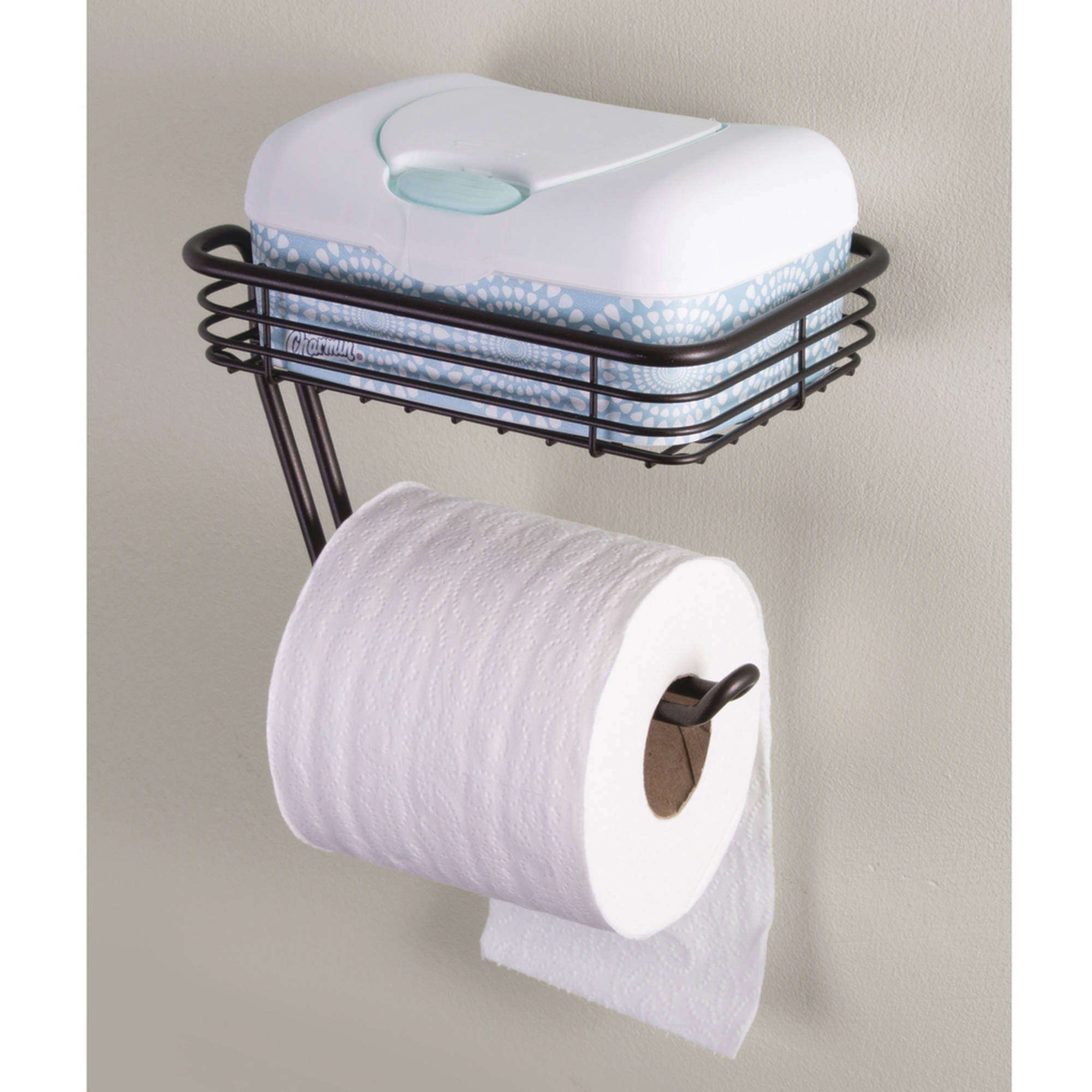 Concealed Toilet Paper Holder 4 Scented Toilet Paper Rollers Tissue Roll Holder