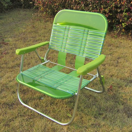 Mainstays Pvc Beach Chair Green Walmartcom