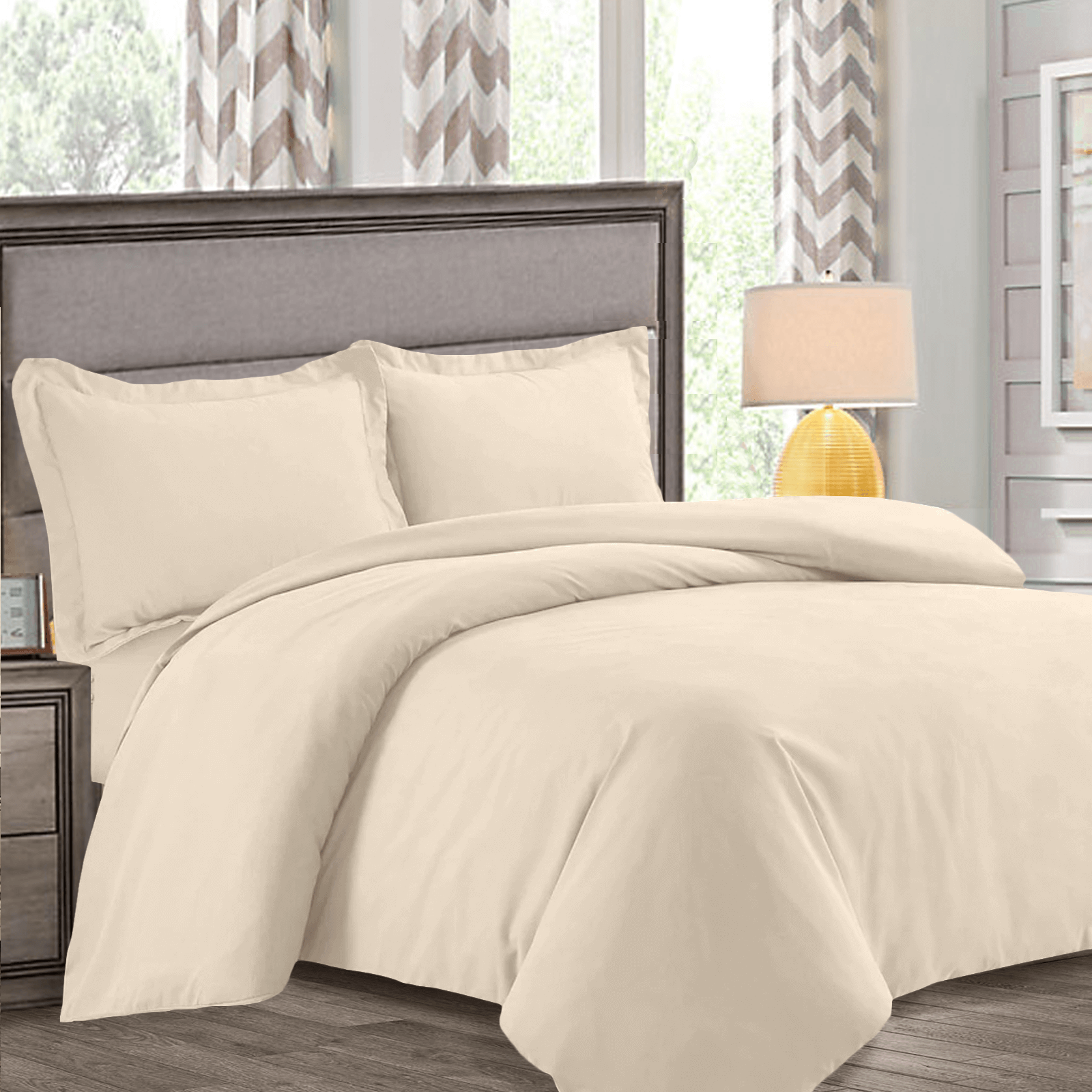Soft Duvet Covers Nestl Bedding Duvet Cover Protects And Covers Your Comforter Duvet Insert Luxury 100 Super Soft Microfiber Full Size Color Cream Beige 3 Piece
