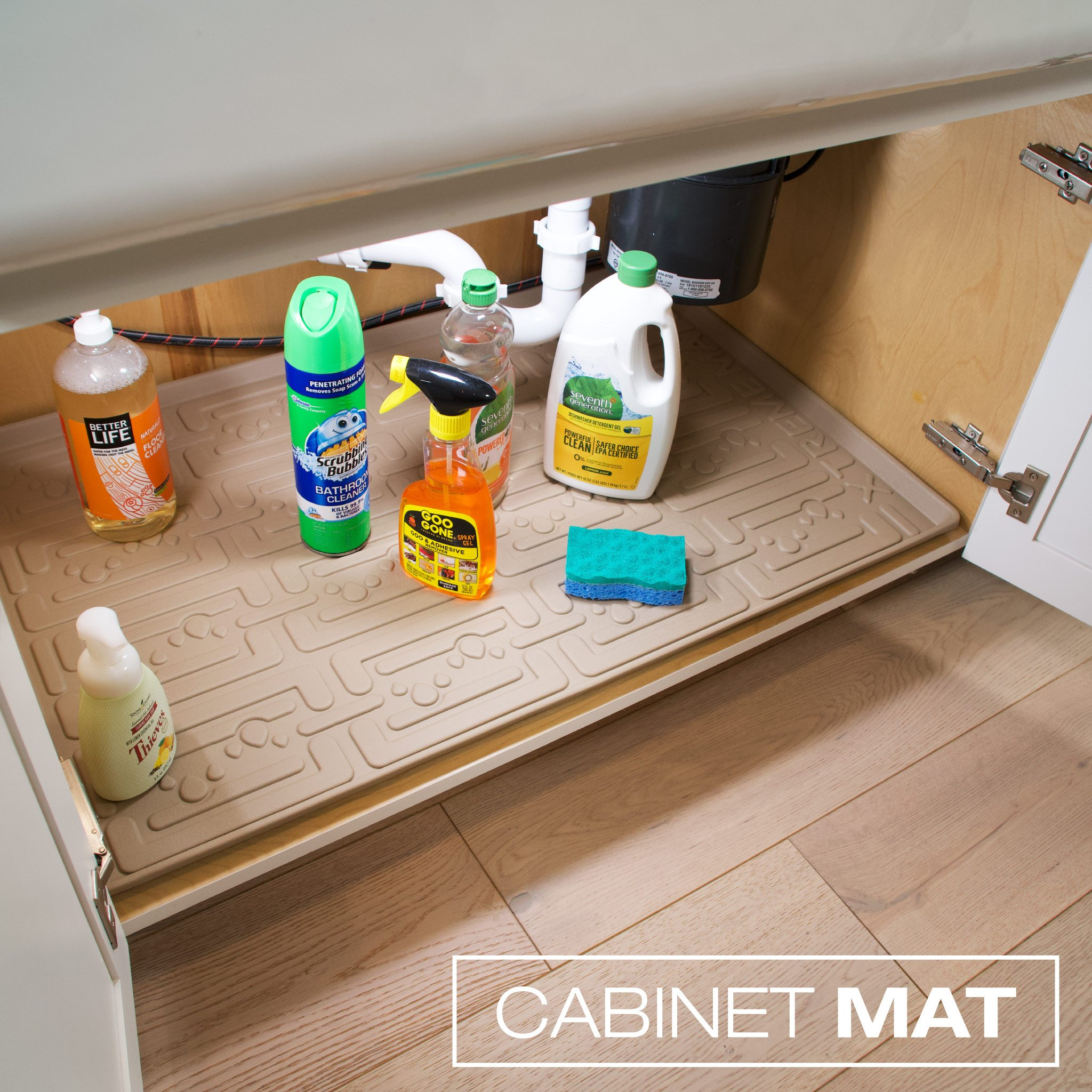 Xtreme Mats Under Sink Kitchen Cabinet Mat 25