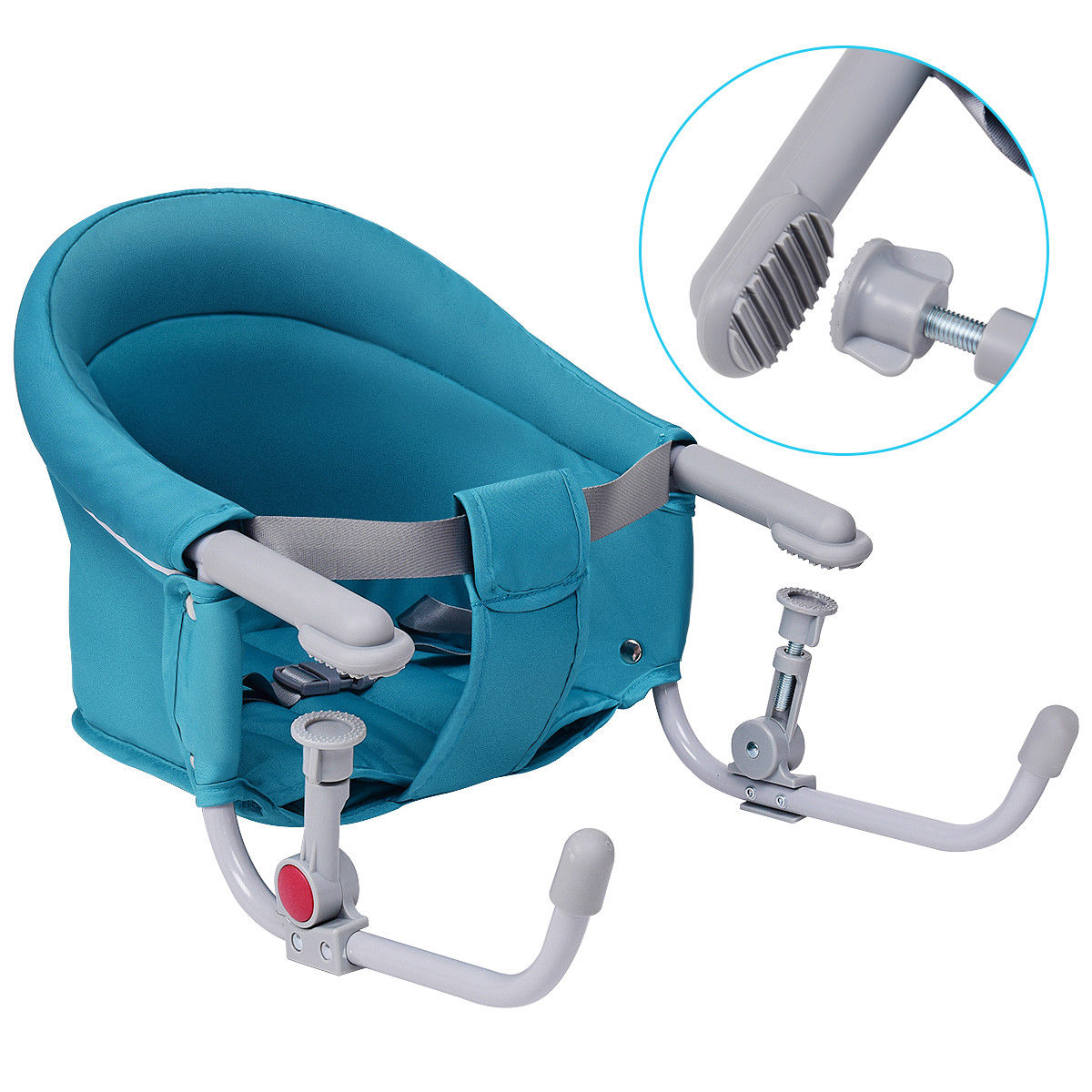 Baby Hook Chair Gymax Portable Folding Baby Hook On Clip On High Chair Booster Fast Table Seat Green