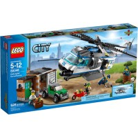LEGO City Police Helicopter Surveillance Building Set ...