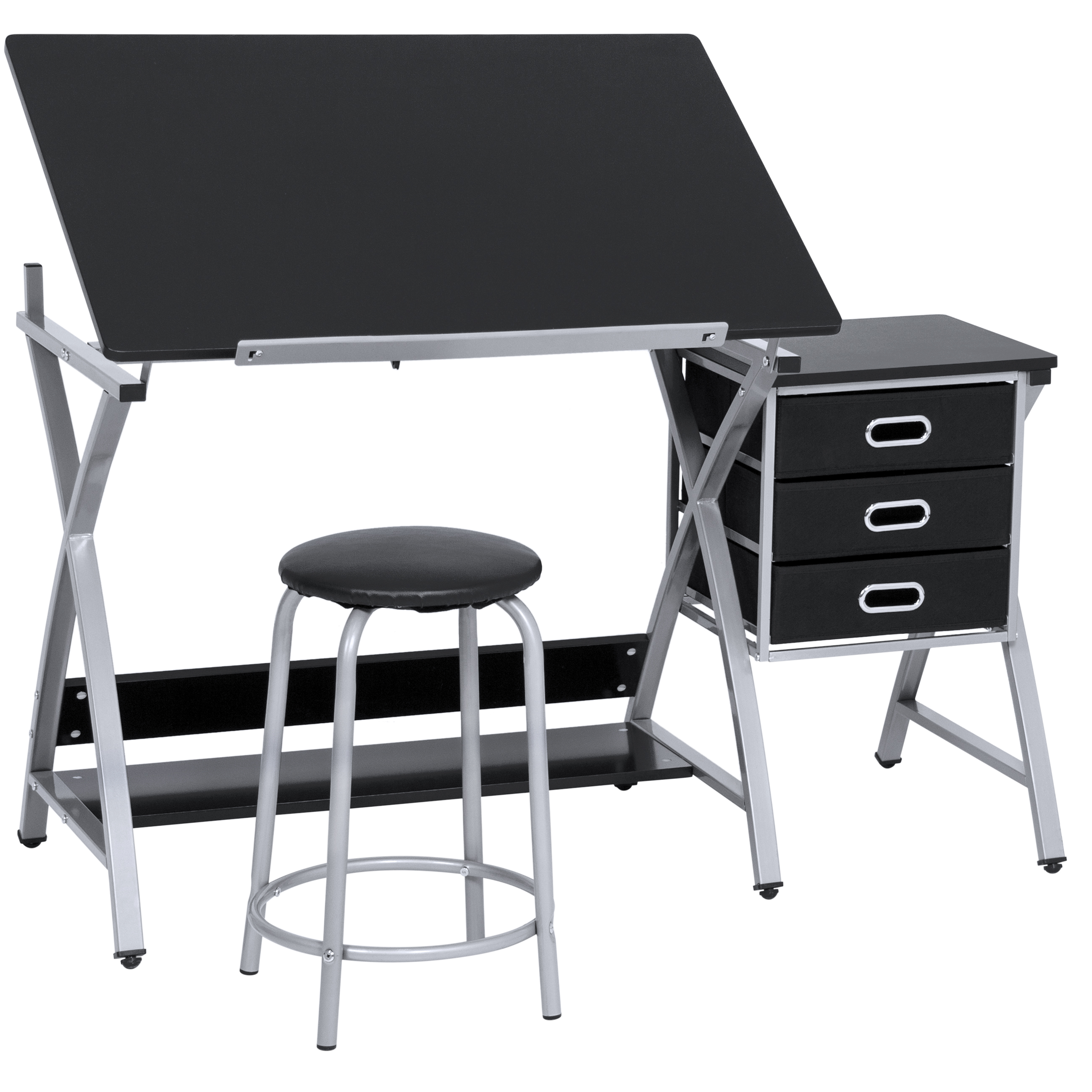 Best Choice Products Adjustable Office Drawing Board Desk