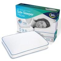 Serta Gel Memory Foam Side Sleeper Pillow - Walmart.com