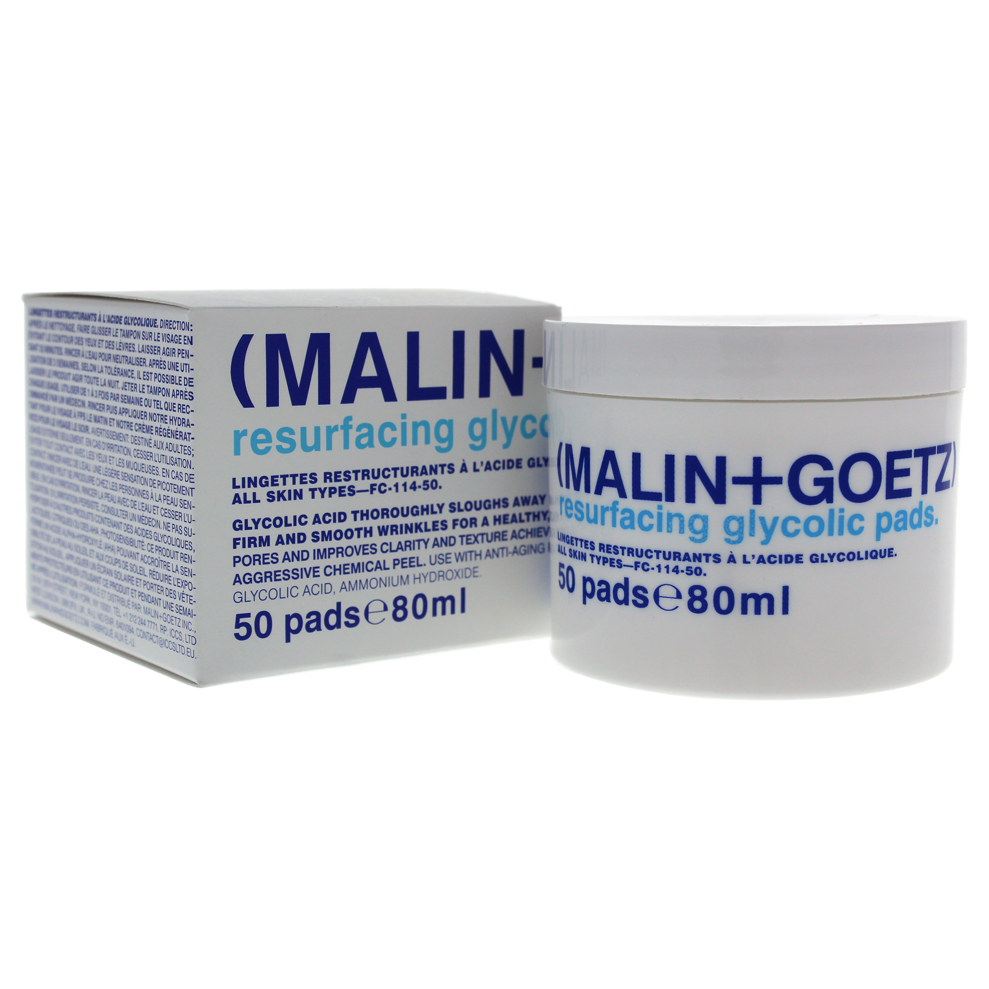 Renover Malin Resurfacing Glycolic Pads By Malin Goetz For Unisex 50 Pads Treatment