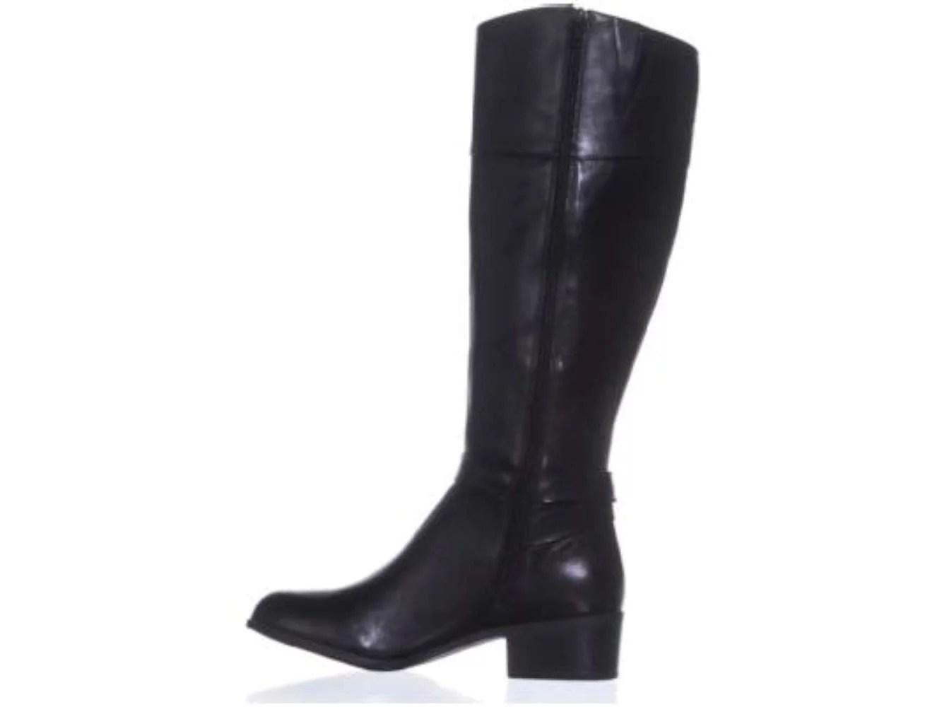 Alfani Womens Berniee Leather Closed Toe Knee High Fashion