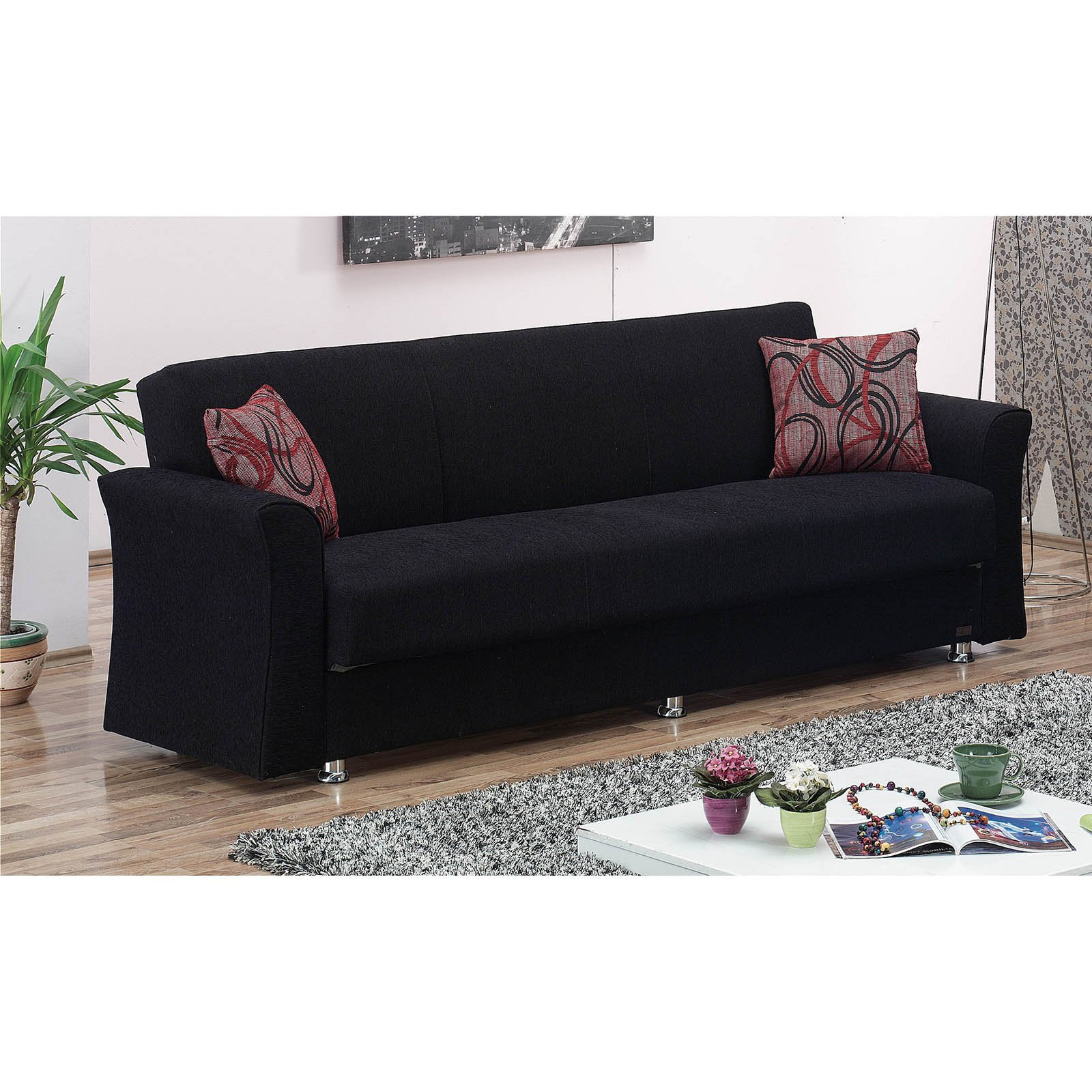 Walmart Usa Sofas Empire Furniture Usa Utah Convertible Sofa - Walmart.com