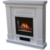 Decor-Flame Electric Space Heater Fireplace with 38 ...