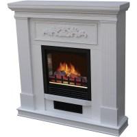 "Decor Flame 35"" Wall-Mounted Fireplace - Walmart.com"