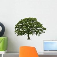 Abstract Summer Oak Tree Wall Decal Sticker by Wallmonkeys ...
