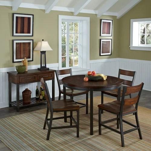 Home Styles Cabin Creek 5-Piece Dining Set, Chestnut ...