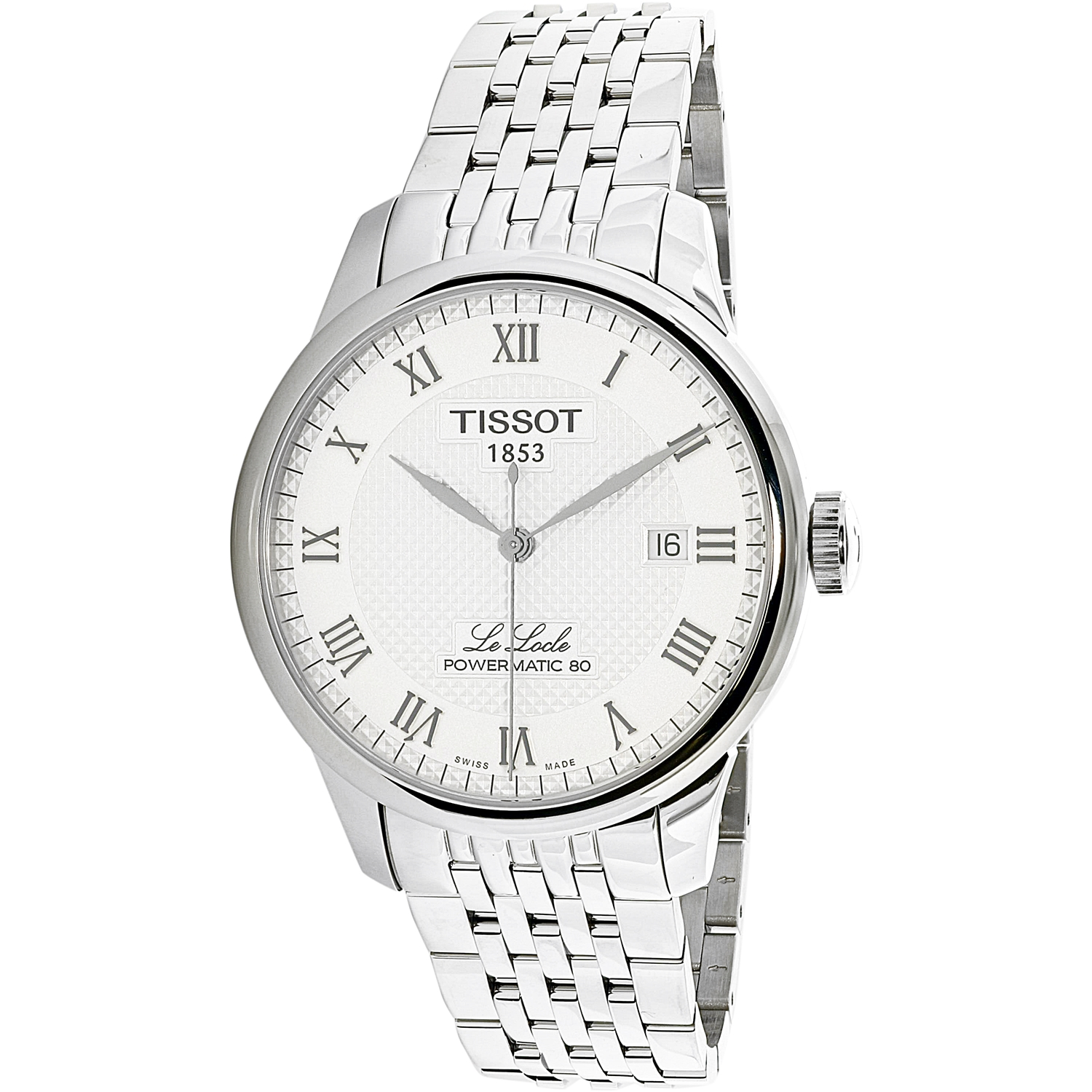 Meuble Tissot Tissot Men S Le Locle T006 407 11 033 00 Silver Stainless Steel