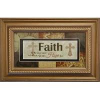 11x7 Faith Framed Wall Art - Walmart.com