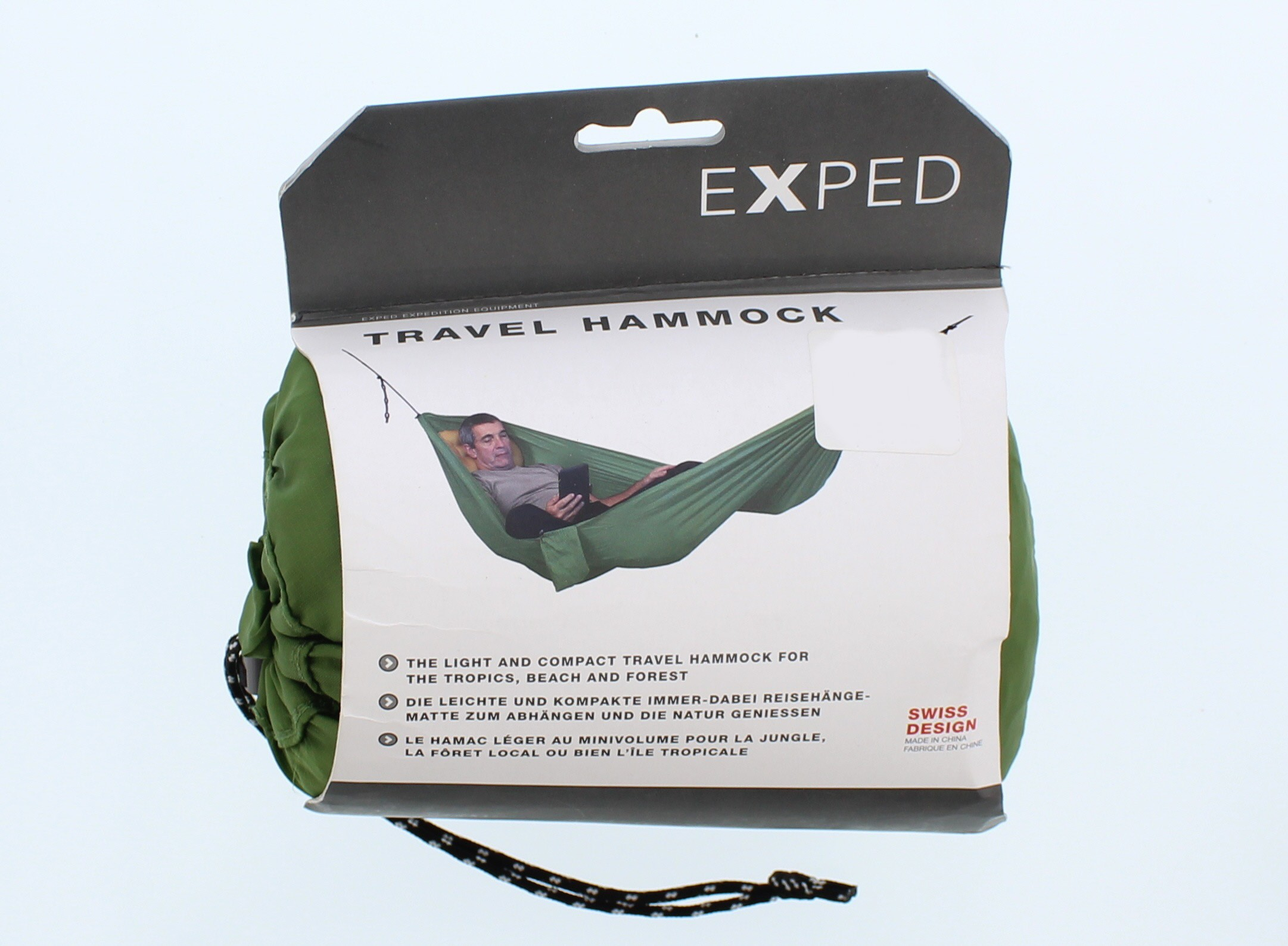Hängematte Exped Swiss Design Exped Travel Hammock Green
