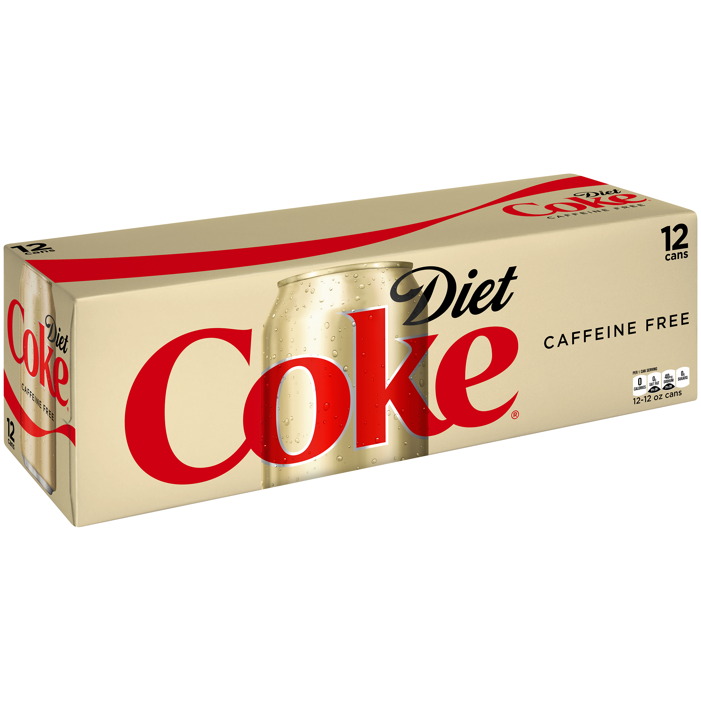 Diet Coke Coca Cola Caffeine Free Diet Soda 12 Fl Oz 12 Count