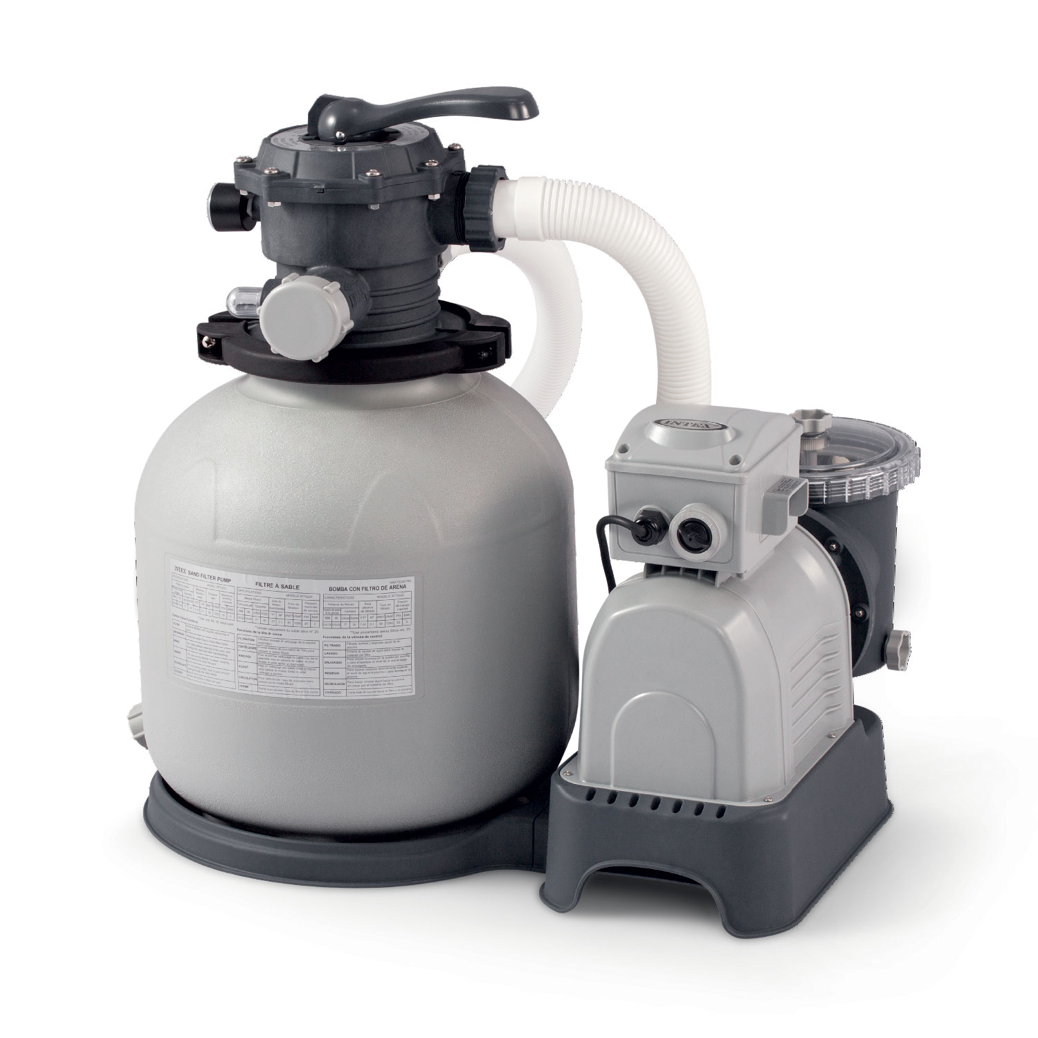 Sandfilteranlage Pool Toom Intex 2 800 Gph Sand Filter Pump Walmart