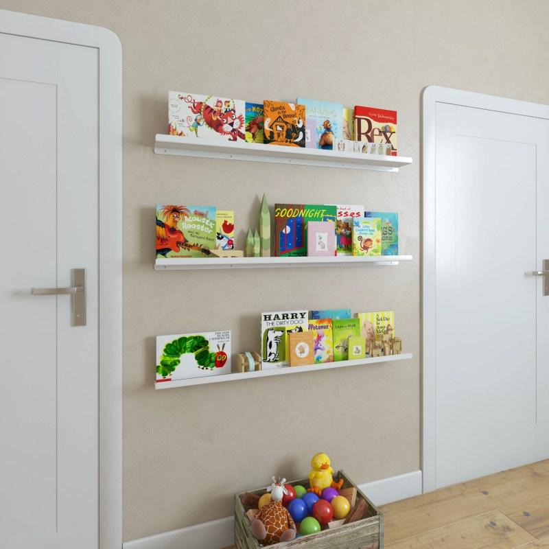 Large Of Kids Floating Book Shelves
