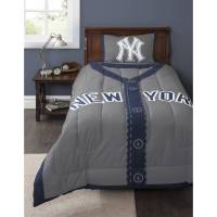 MLB NY Yankees Twin Bedding Comforter Set - Walmart.com