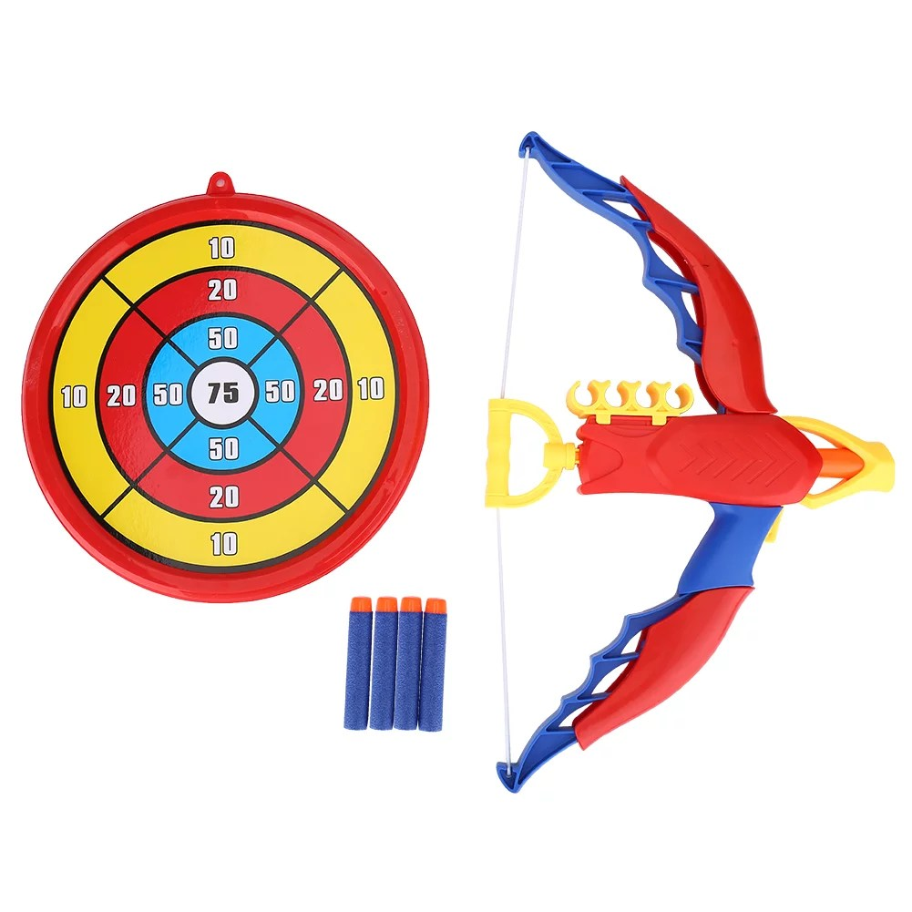 Kids Archery Bow And Arrow Toy Set With Target Toy