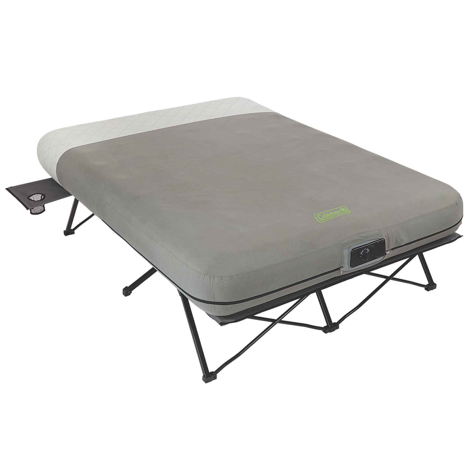 Queen Air Mattress Cot Coleman Queen Frame Airbed Cot With Side Tables And Built In Pump 2000019460
