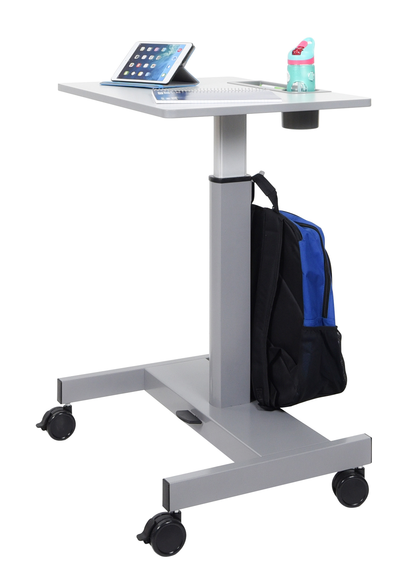 Sit To Stand Desk Student Desk Pneumatic Sit Stand Desk