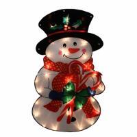 Northlight Seasonal 31740185 Lighted Shimmering Snowman ...