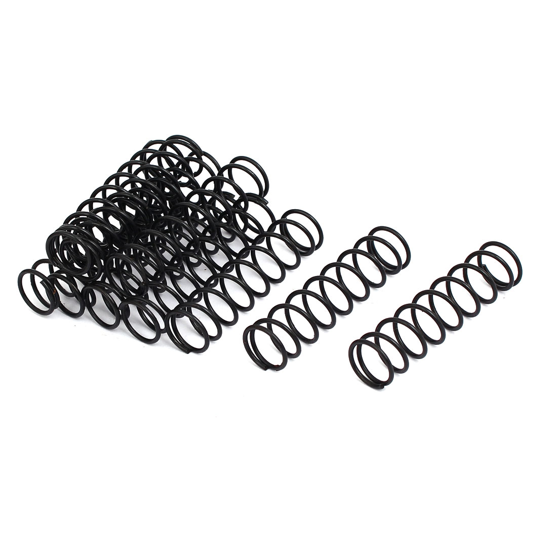 Compression Springs 1 2mm Wire Dia 13mm Outer Diameter 50mm Long Compression Springs Black 10pcs