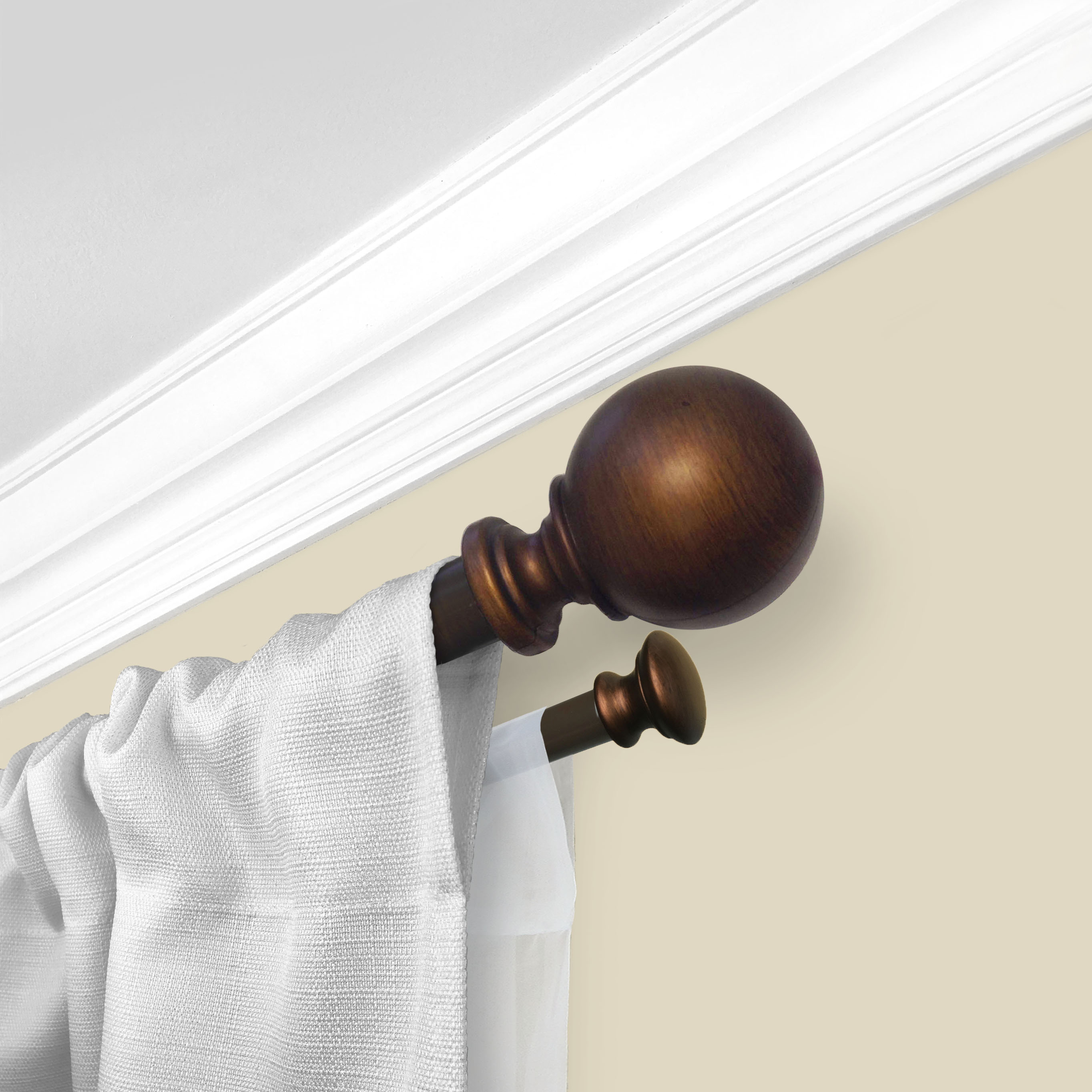 Cheap Finials For Curtain Rods Mainstays 1