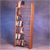 Wood Shed 700 Series 280 DVD Dowel Multimedia Storage Rack