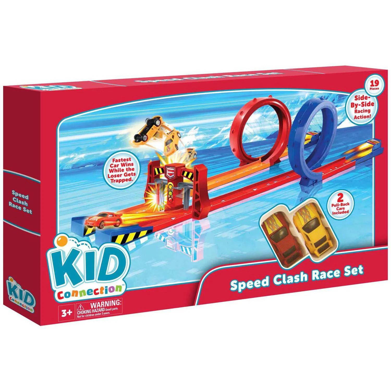 Kid Connection 19 Piece Duo Blast Race Set Walmart