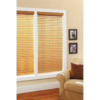 """Better Homes and Gardens 2"""" Faux Wood Windows Blinds, Oak ..."""