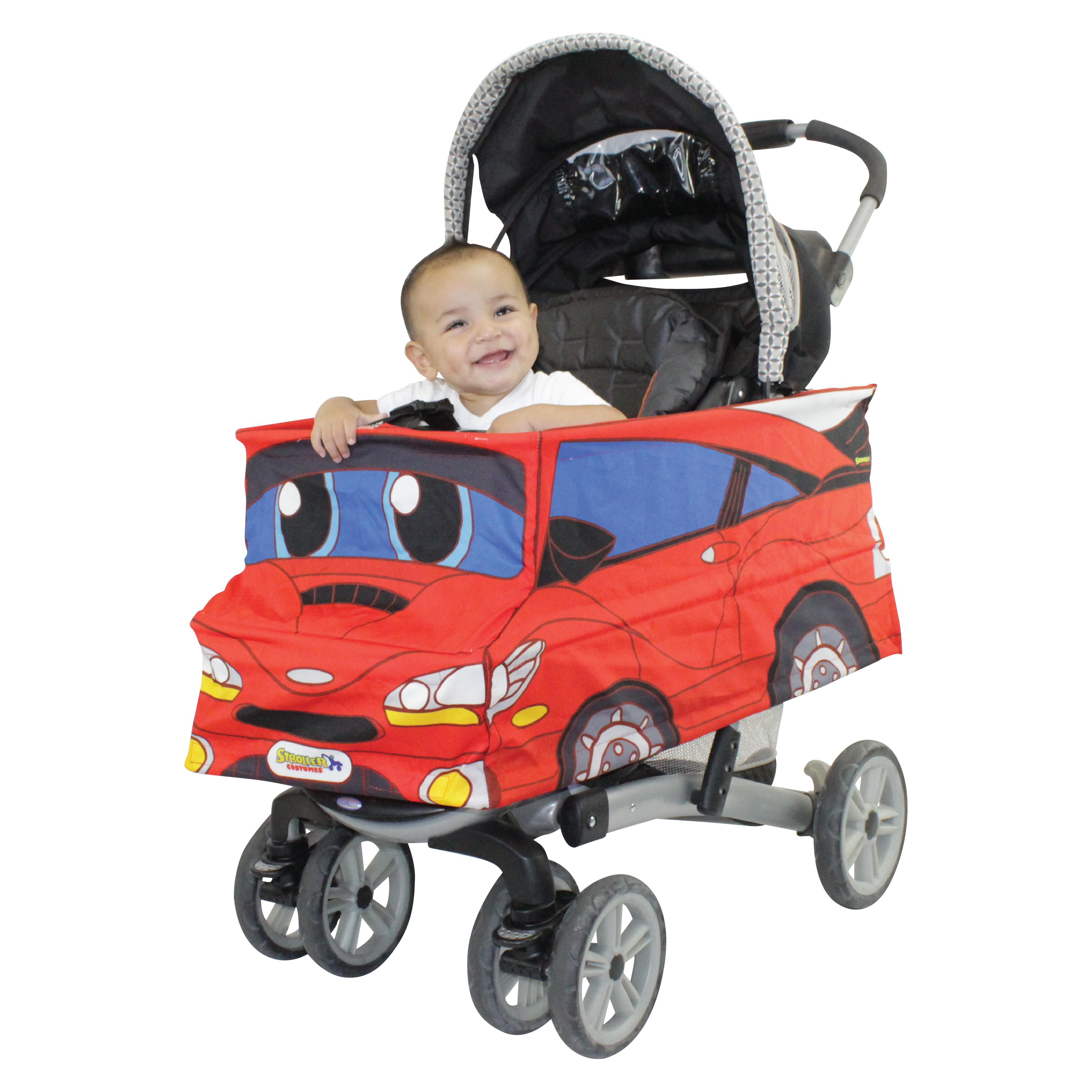 Stroller Car Race Red Race Car Stroller Costume Walmart