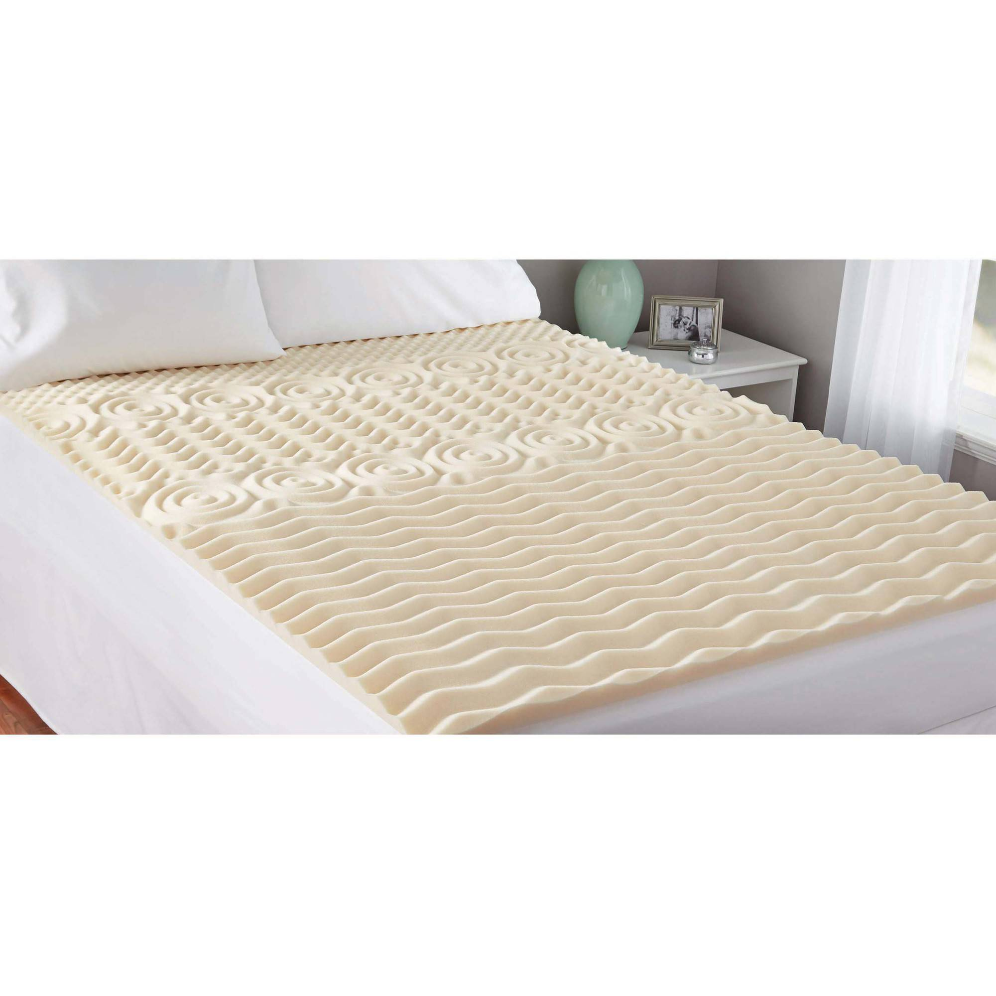 Memory Foam Mattress Toppers Mainstays Memory Foam 1 5