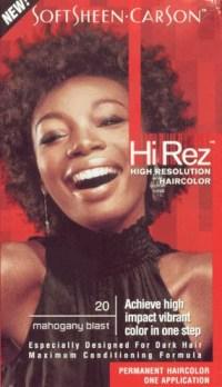 Hi Rez High Resolution Hair Color - #20 - Mahogany Blast ...