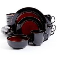 Gibson Studio Villa Mosa 16-Piece Dinnerware Set, Round ...