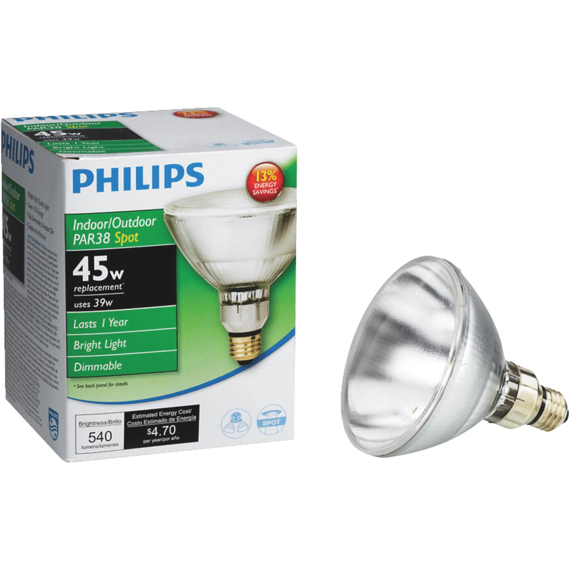 Halogen Spotlight Bulbs Philips Ecovantage Par38 Halogen Spotlight Light Bulb