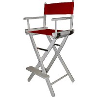 YuShan White Frame 30-inch Director's Chair - Walmart.com